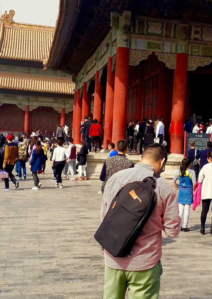 the worlds best chef bag in the forbidden city