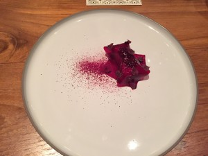 Foie Gras Parfait with Beet Jelly @House on Sathorn Bangkok